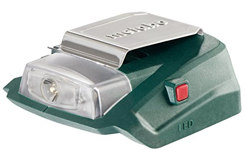 Metabo 600288000 Akku-Power-Adapter PA 14.4-18 LED-USB, 18 V, Grün, Rot, Silber