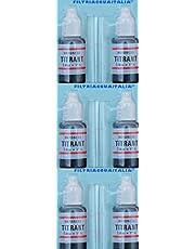 Titrant - Juego de 6 filtros de agua para medir la dureza del agua (grados franceses)