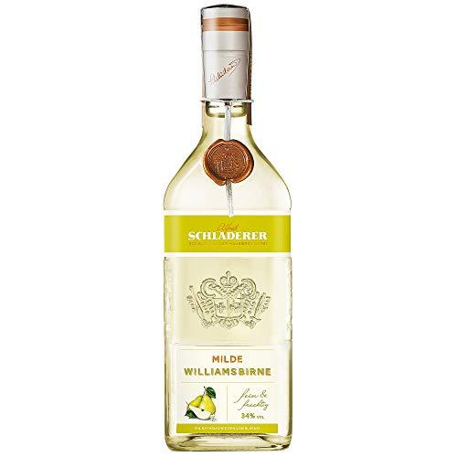 Schladerer Milde Williamsbirne, feiner Digestif aus dem Schwarzwald, mild und fruchtig dank sonnengereifter Birnen aus der Region (1 x 0.7 l)