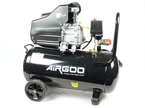 airgoo AG 50Compressore 50litri–8Bar–238L/min–3HP