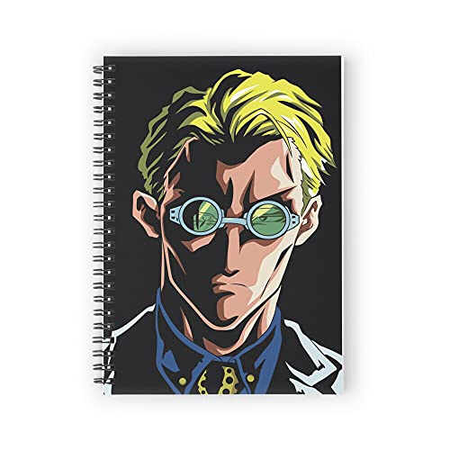 Nanami Jujutsu Kaisen Spiral Notebooks 160 Pages, Pages with Premium Thick Paper, Strong Twin-Wire Binding for College Students and Office