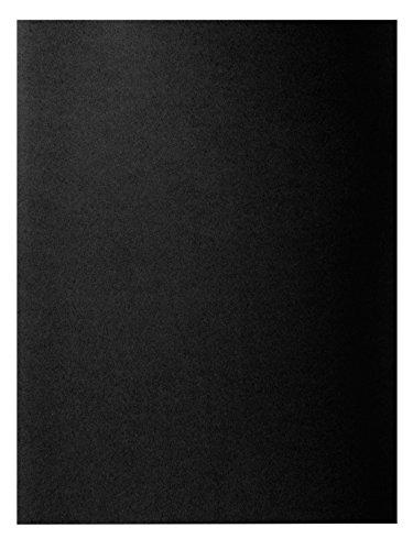 Exacompta Rock'S 210018E, Lote de 100 Subcarpetas para A4 210 g/m² 24 x 32 cm, Negro