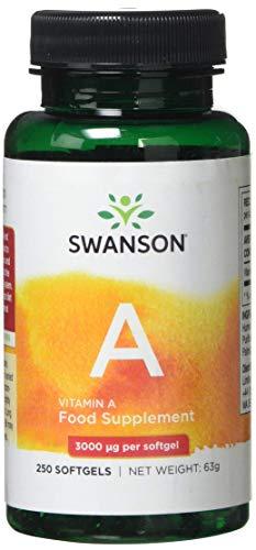 Swanson Vitamin A 10,000iu, 250 Softgels