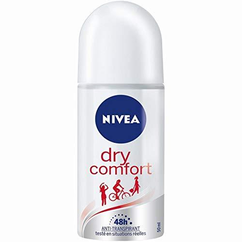 Nivéa déodorant bille femme dry comfort plus 50ml - Prix Unitaire - Livraison Gratuit En France métropolitaine sous 3 Jours Ouverts