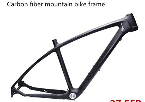 Mountainbike Radspor Rahmen Carbon Rahmen Mountain Bike Carbon MTB Radsport Fahrradrahmen Carbon Bike Frame 17 Zoll glänz