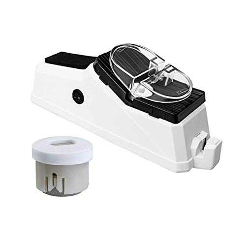 ALTcompluser Eternitymei Electric Knife Sharpener, 2 Stage Professional Function Knife Sharpening Tool, Rechargeable Scissors Sharpener for Knives, Scissors