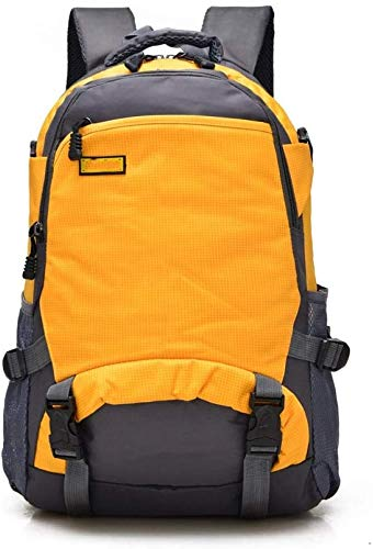 tgbnh Backpack,Hiking Backpack Packable Backpack Hiking Daypack Backpack Unisex Outdoor Sports Travel Backpack Small Yellow (Color : Default)