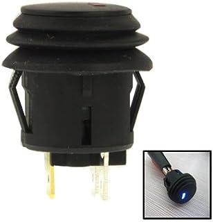 19 mm Camion Klaxon de Voiture Auto-Verrouillage Verrouillage Bouton pour Voiture Chianrliu Interrupteur Bouton Poussoir 1 Pcs Color 1