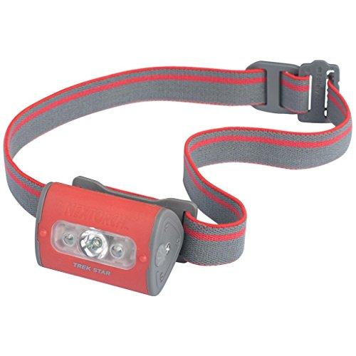 Nextorch des 220 lm Trek étoile 3 AAA Blanc/rouge LED Lampe frontale de couleur rouge
