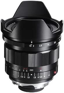 Voigtlander 21mm f/1.8 Ultron Manual Focus Aspherical Lens for M Mount Cameras, with Built-in Lens Hood