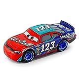 WANGH Pixar Cars 3 Nueva Rayo Mcqueen Jackson Juguete Cabrito de la Navidad Modelo tormenta Cruz Ramírez Mater 01:55 Diecast aleación del Metal del Coche (Color : Nostaee)