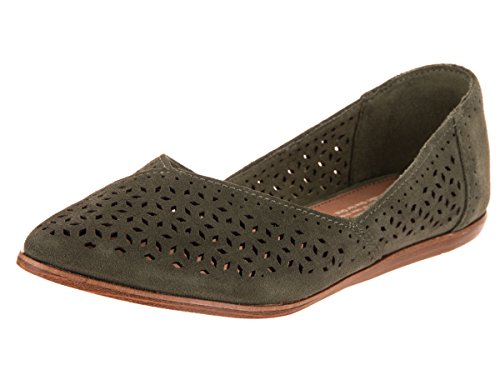 TOMS Women's The Jutti Shoes Desert Taupe Suede/Mosaic Tile 7