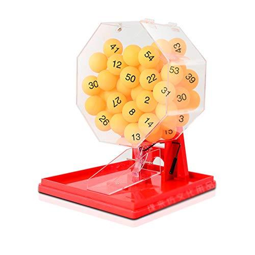 Bingo Lotería De Bebida De La Máquina De Juegos para Adultos Aplicable Lotería Partido De La Barra Al Aire Libre Familia Ktv Bolas Machine1-50,A