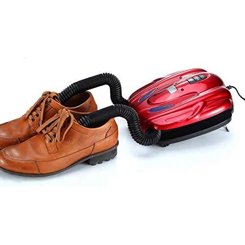 NBALL-TT Secadora de Zapatos de la función de desodorización de la esterilización Secador de Zapatos de ozono con conducto de Aire retráctil y Pantalla Digital