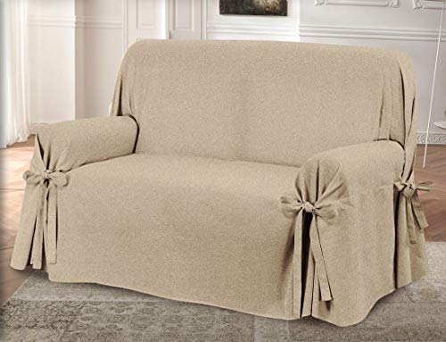 HomeLife – Cubre sofá de 2 plazas – Elegante Protector