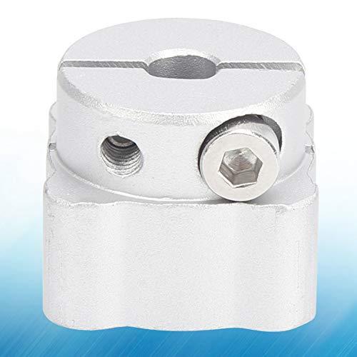 Demeras Abrazadera de eje de aluminio de 6 mm con orificios centrales