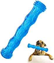 CEESC Dog Chew Toy Bone Tooth Cleaning and Puzzle Game for Puppy, 3 Sizes and 3 Colors Options (L: 11.02