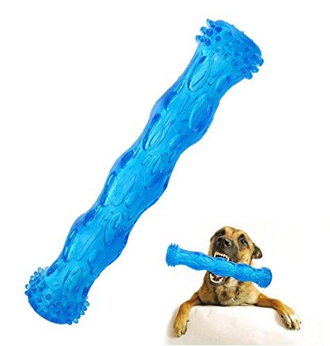 CEESC Gioco per cani da masticare, pulizia del dente d'ossa e puzzle per cuccioli, 3 taglie e 3 colori