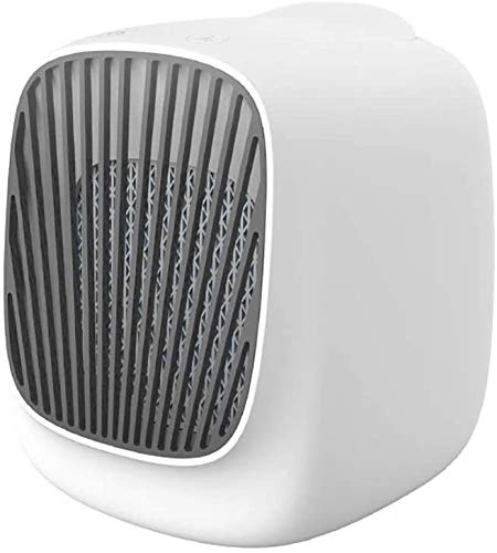 miwaimao Tragbare Klimaanlage Ventilator Persönliche Mini Luftkühler Luftbefeuchter Haushalt Mini Desktop Kaltventilator Befeuchtung USB Büro Kalt Tragbar Klein Elektrischer Ventilator