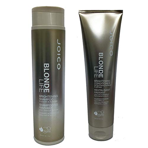Joico Blonde Life Brightening Shampoo 10.1 fl oz and Conditioner 8.5 fl oz Duo