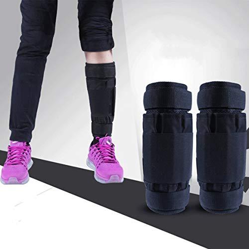 Paperllong - Fußgelenkmanschetten für Krafttraining in schwarz, 1