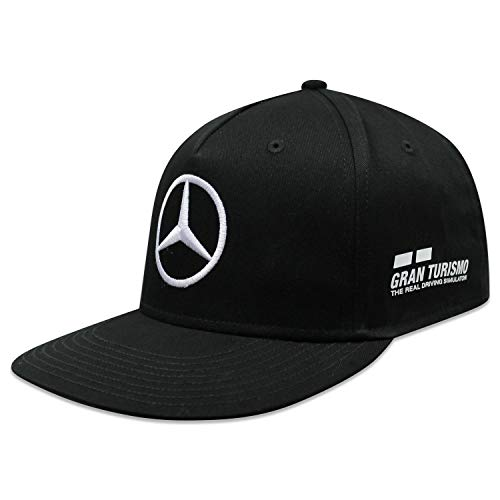 MERCEDES AMG PETRONAS Motorsport Team F1 Rennfahrer Cap Lewis Hamilton Flatbrim Black