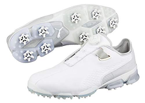 Puma Titantour Ignite Premium Disc Herren Golfschuhe Männer Sportschuh weiß grau Größe 47