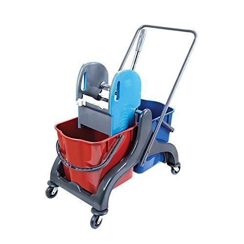 Aviva Pro 50carro doble Borrador de limpieza de suelo carro carrito de...