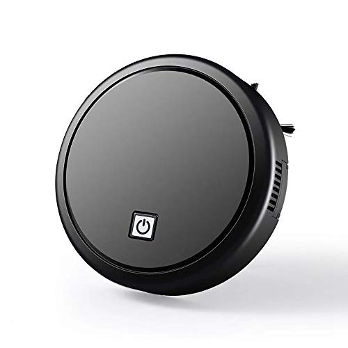 Learn More About Robotic Vacuum Cleaner Household Intelligent Sweeping Robot Powerful Suction 90 Minutes Running Time Low Noise Drawer Filter Dust Box for Pet Hair, Carpet and All Types of Floor