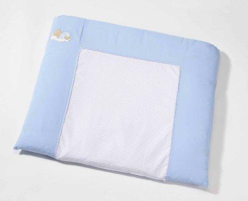 Easy Baby 440–81 Matelas à langer 85 x 75 cm Bleu Motif ourson endormi