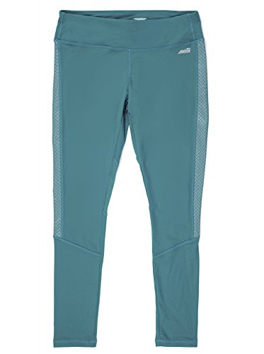 Avia Women's Active Performance Legging Printed (XS, Turquoise)