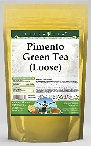 Pimento Green Tea Loose 8 oz 538023 - 3 Ranking TOP4 ZIN: Pack free