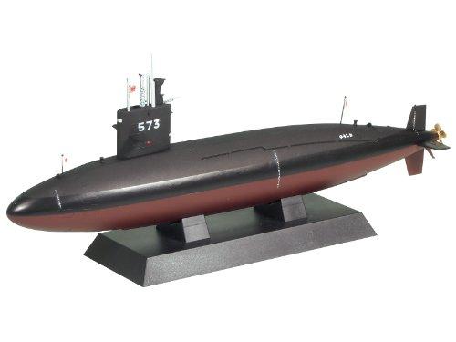 1/350 JMSDF submarine SS-573 evening tide (JB10) (japan import)