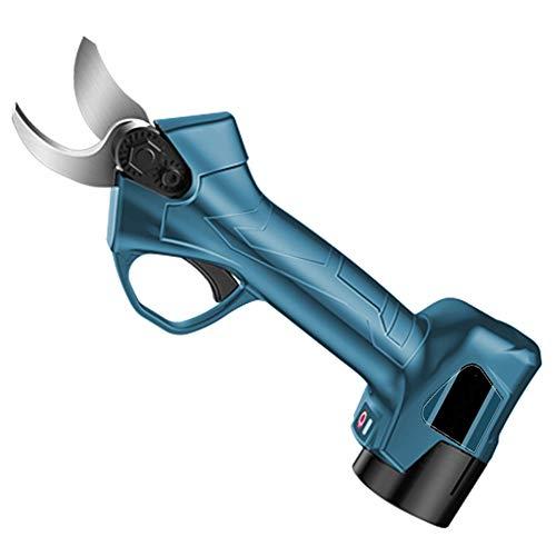 Best Bargain Z-SEAT Tree Branch Pruner Electric Pruning Shears Rechargeable Garden Scissors Shear Di...