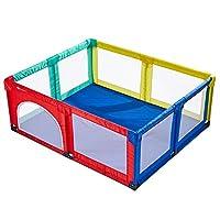 ベビーフェンス ベビーキッズ子供のための多色ポータブルベビーサークル、セーフティプレイセンターヤード、家庭用屋内屋外新しいペンアンチフォール、エクストラトール70cm (サイズ さいず : 150×190cm)