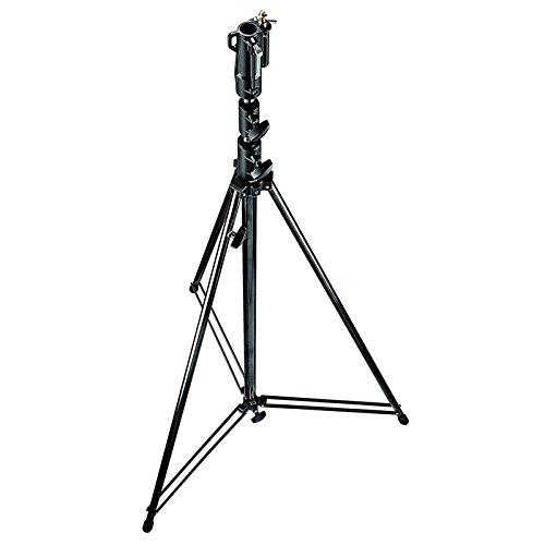 Manfrotto 111BSU tripode Negro - Trípode (25 kg, 3,8 m, Negro, 9 kg)