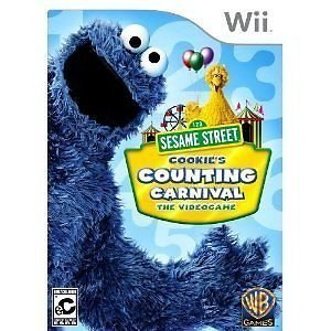 Sesame Street Cookie's Counting Carnival with Controller Slip Cover