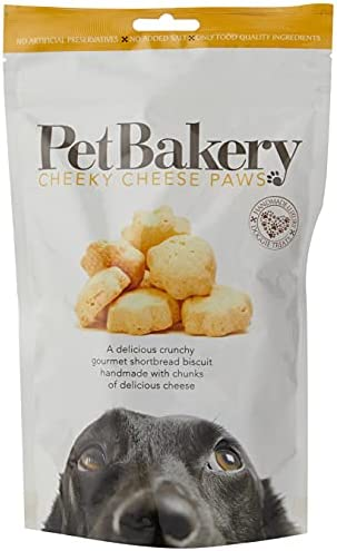 Pet Bakery Dog Treat Paws Cheese, 190 g – Dogs Corner
