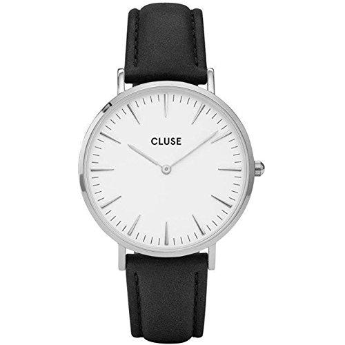 Cluse Damen Armbanduhr Analog Quarz Leder CL18208