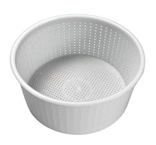 1 Pz. Fuscella Forma contenitore da 1,8/2 kg per Formaggio - Caciotta - Ricotta ecc.