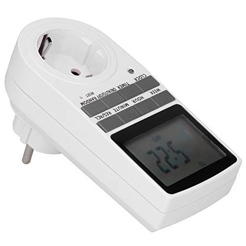 Redxiao 10A Timer-Schalterbuchse, Outlet-Timer, Energieeinsparung für Lüfterlampe(#1)