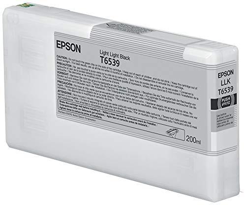 Epson Tinte Pigment hellgrau SP 4900(200ml)–Tintenpatronen (schwarz, Epson Stylus Pro 4900SpectroProofer UV, Tintenstrahldrucker)