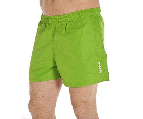 Reebok Herren Badehose Basic Gr. XS, grün