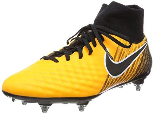 Nike Men's Magista Onda II Dynamic Fit Soft-Ground Football Boots, Orange (Laser Orange/Schwarz-Weiß-Volt-Weiß), 7 UK (41 EU)
