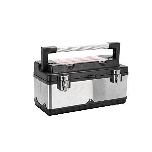 Elite premium 922026 - Caja de herramientas de acero inoxidable, 62 piezas