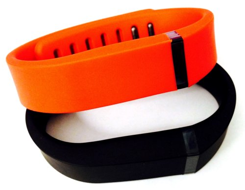 ! Small S 1pc Black 1pc Red (Tangerine) Replacement Bands + 1pc Free Small Grey Band With Clasp for Fitbit FLEX Only /No tracker/ Wireless Activity Bracelet Sport Wristband Fit Bit Flex Bracelet Sport Arm Band Armband