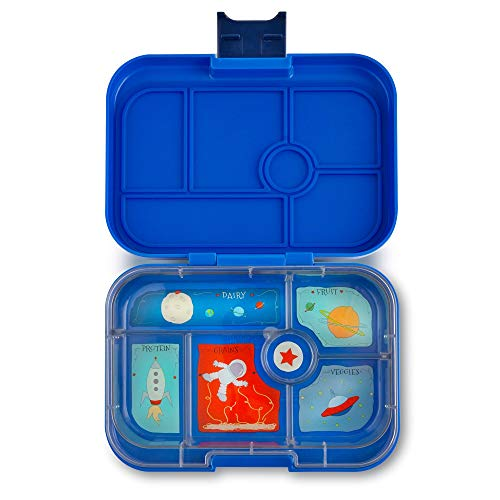 Yumbox Original Leakproof Bento Lunch Box Container for Kids (Neptune Blue Original)