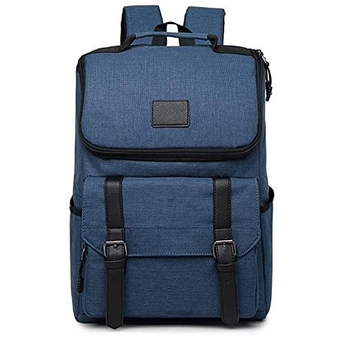 Bolso de hombre Vintage para hombre y mujer, mochilas de lona, mochilas escolares para adolescentes, niños, niñas, mochila para ordenador portátil de gran capacidad, mochila para hombre de moda