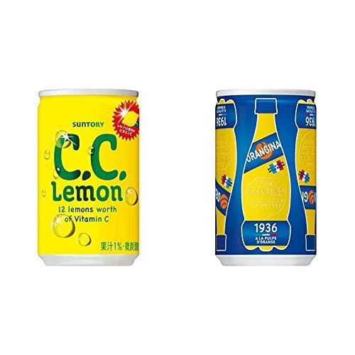 【セット買い】 サントリー C.C.レモン 160ml缶×30本 + オランジーナ 160ml×30本