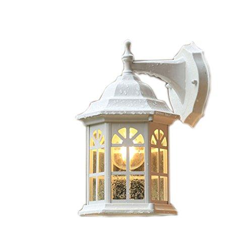 Fer couloirs de lumière jardin lumière blanche façade mur (taille : 30 * 20cm)